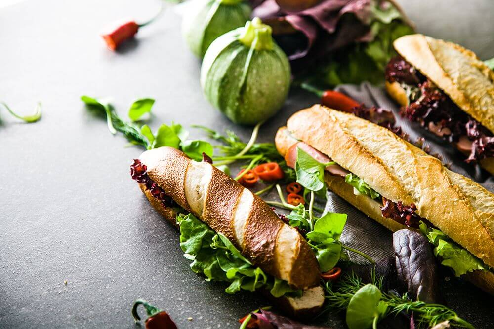 fast food Czy fast-food może być zdrowy? sandwich PLJT4HH