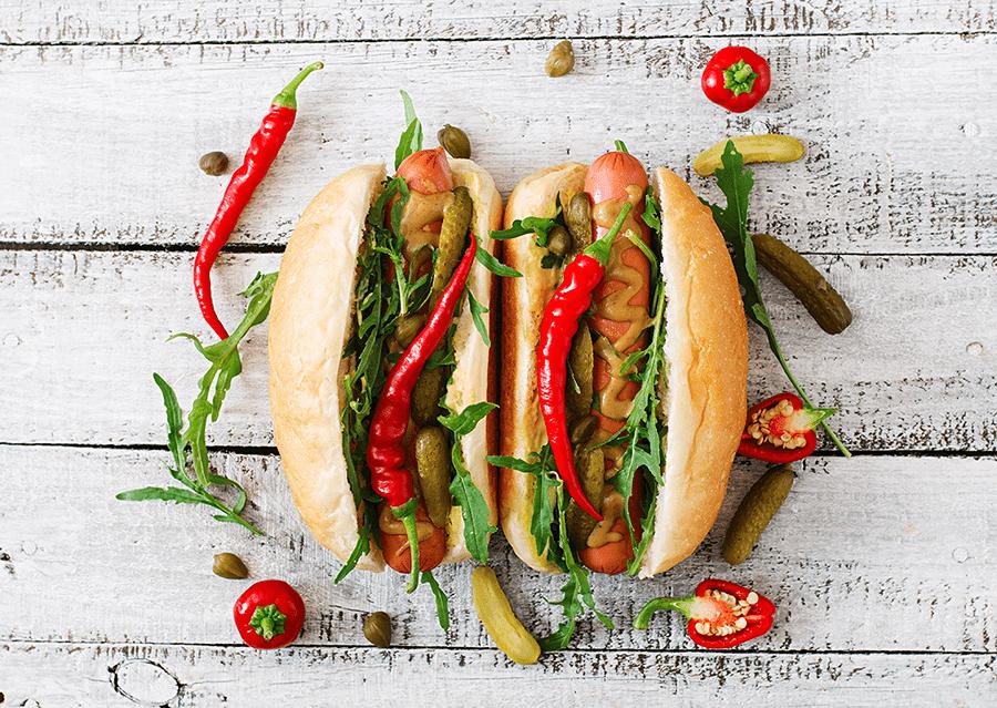 hot dog Hot-dog, gdy liczy się szybkość nowoczesne hot dogi2