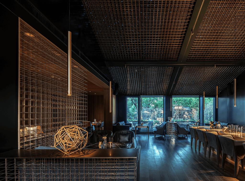 nowoczesny wystrój restauracji biznes gastronomiczny 10 wskazówek – jak rozwinąć gastronomiczny biznes wystroj nowoczesnej restauracji 1024x757