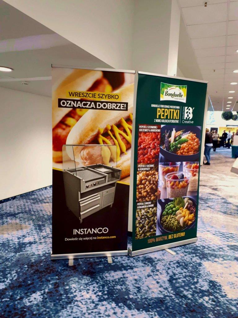 business restaurant academy Instanco na konferencji Business Restaurant Academy rollup instanco 1 768x1024